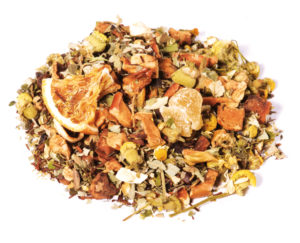 tisane orange épices