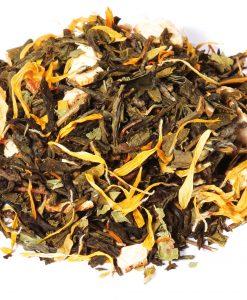 thé vert mandarine verveine