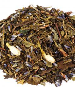 thé vert fraise jasmin piment