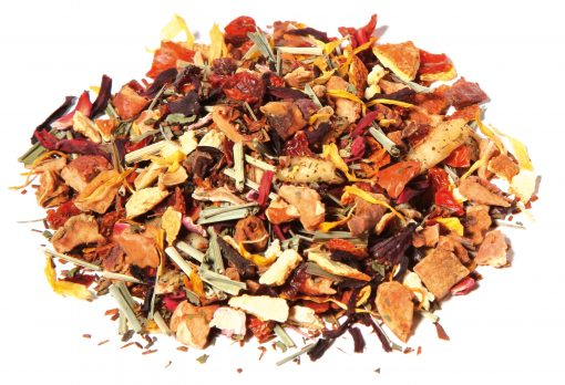 infusion menthe fraise rooibos