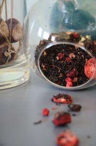 Thé noir chocolat fruits rouges