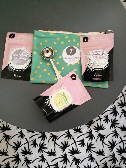 pochette thés et accessoires