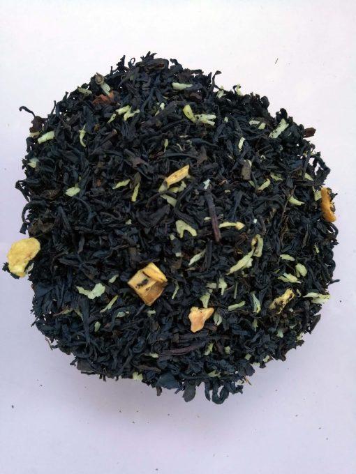 Thé noir Assam Bio: abricot - noix de coco