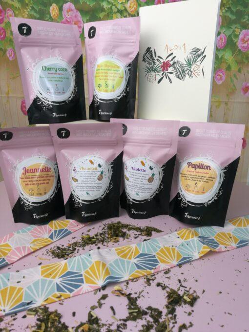 Une large gamme de thés et tisanes bio