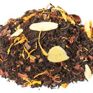 thé poire amande chocolat